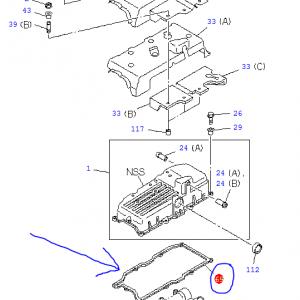 Cam Cover Gasket – Isuzu Trooper 3.0, 4JX1