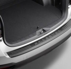 Cargo Step Panel, Bumper Protector, Genuine, Subaru Forester 2013 on