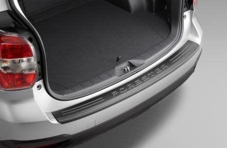Cargo Step Panel, Bumper Protector, Genuine, Subaru Forester 2018 Model