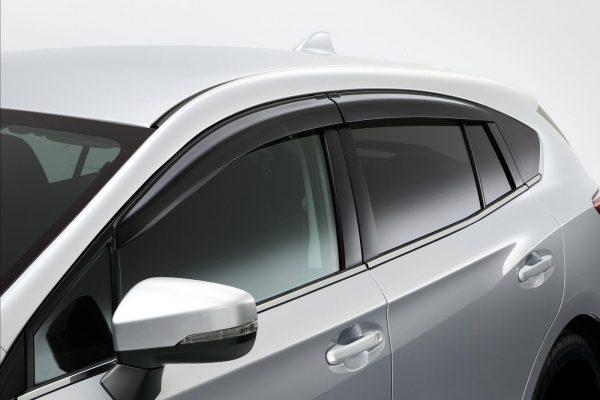 Door Visors. Subaru Impreza 2018 Model