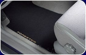 Front Carpet Mats, Premium, Subaru Forester 2003 – 2008