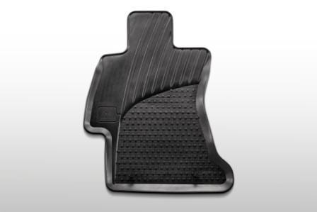Front Rubber Mats, Subaru Forester 2013 on