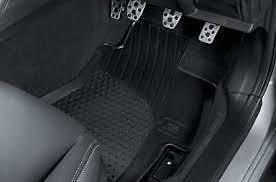 Front Rubber mats, Subaru Impreza