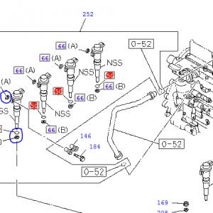 Injector Seals Set – Isuzu Trooper 3.0, 4JX1