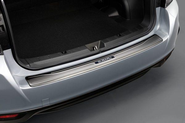 Rear Bumper Protector. Subaru Impreza 2018 Model