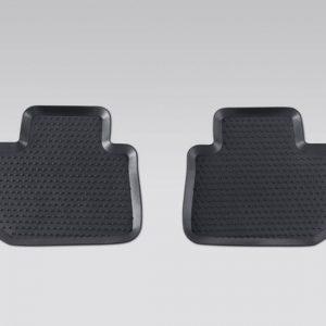 Rear Rubber Mats, Subaru Impreza