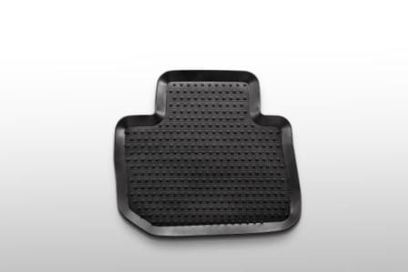 Rubber Mats, Rear Set. Subaru Impreza 2018 Model