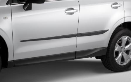 Side Protectors, Genuine, Subaru Forester 2013 on