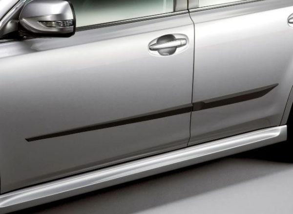 Side Protectors, Genuine, Subaru Outback 2010 to 2014 Model