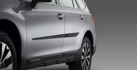 Side Protectors, Genuine, Subaru Outback 2015 Onwards