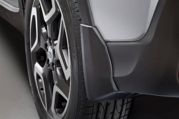Splash Guards: Rear, Subaru XV 2018 onwards model J1010FL204