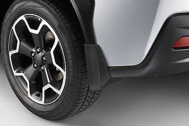 Splash Guards - Rear, Subaru XV