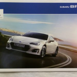 Subaru BRZ Vehicle and Accessory Brochure