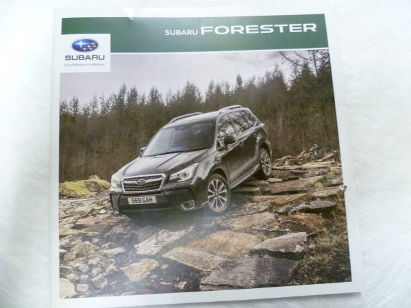 Subaru Forester Vehicle and Accessory Brochure