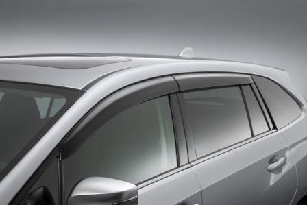 Subaru Levorg 16MY, Door Visors