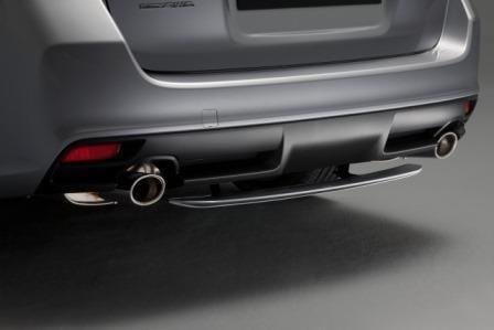 Subaru Levorg Rear Under Spoiler