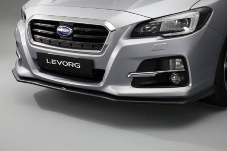 Subaru STi Front Lip Spoiler, Genuine Accessory