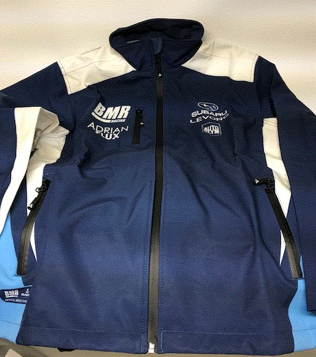 Subaru Team BMR BTCC Soft Shell Jacket - 2018