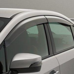 Subaru WRX STi, Door Visors. Genuine Subaru E3610FJ800