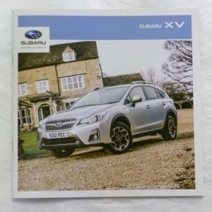 Subaru XV Vehicle and Accessory Brochure