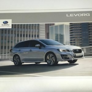 Subaru Levorg 2019, Vehicle & Accessory Brochure