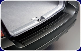 Cargo Step Panel, Bumper Protector Panel, Subaru Forester 2003-2008