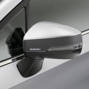 Mirror Foil, Black. Subaru