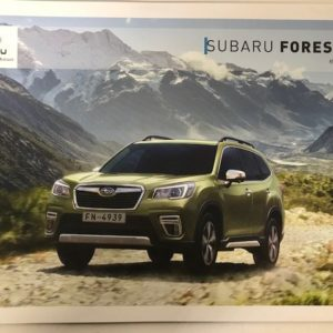 Forester Hybrid Vehicle Brochure 2020