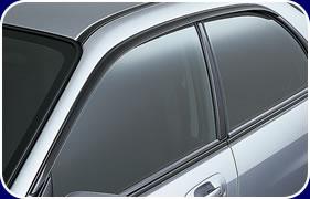 Subaru Impreza Side Visors, Wind Deflectors